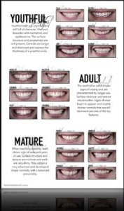 "Poster ""Aging of teeth"""